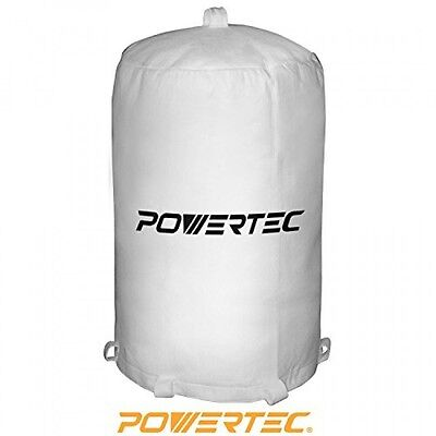 POWERTEC 70001 Dust Collector Bag, 20Inch x 31Inch, 1 Micron, New, Free Shipping