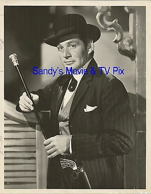 GENE BARRY Fantastic ORIGINAL TV Photo BAT MASTERSON