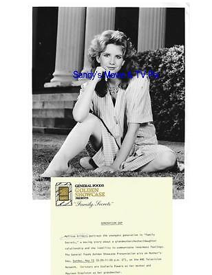 MELISSA GILBERT Terrific ORIGINAL TV Photo FAMILY SECRETS