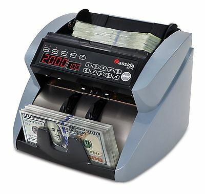 Currency Counter Count Bill Money Cash Counting Machine Counterfeit Detector NEW