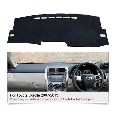 Fits For Toyota Corolla 2007-2013 DashMat Dash Cover Mat Dashboard Cover Fly5D
