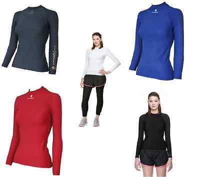 Proskins Active Women Compression Long Sleeve Crew Top *CURRENT STOCK SALE*