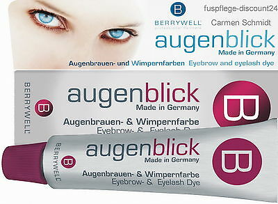10Ml=2,63€  Berrywell Augenblick Augenbrauenfarbe  Wimpernfarbe  Made In Germany