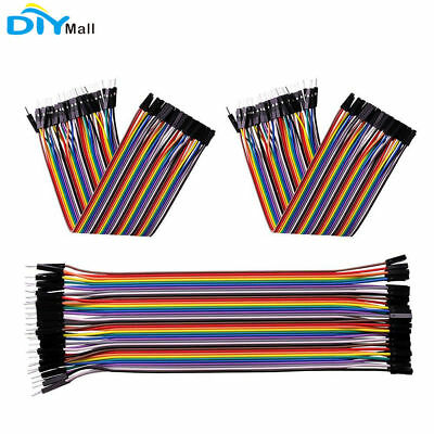 120pcs Dupont Wire Female to Female+Male to Female + Male to Male Jumper Cable
