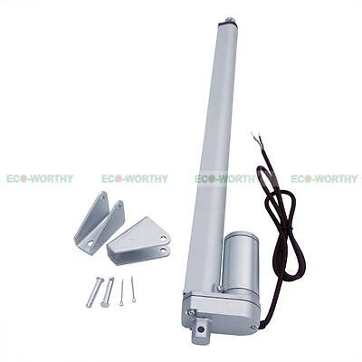 """16"""" 12V 330lbs Linear Actuator Electric Motor for Auto,Lift, Solar Tracker DIY"""