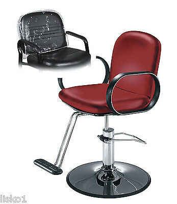 Takara - Belmont* Decora * Salon Styling Chair Plastic Chair Back Cover (Clear)