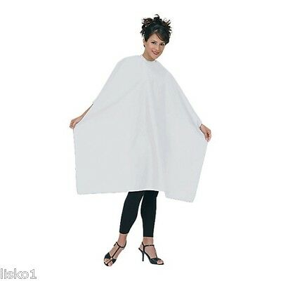Betty Dain #199S Whispers Styling Cape SNAPS (WHITE)