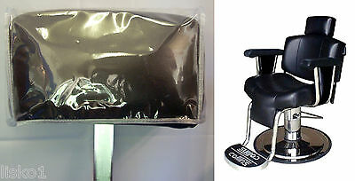 Collins Mfg. 9010 Continental  Barber Chair Clear Vinyl Headrest Cover
