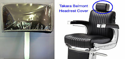 Takara Belmont BB225 Elegance Barber Chair Headrest Cover Clear Vinyl