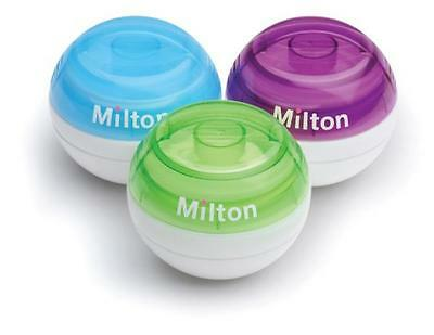 Milton Mini Portable Soother Dummy Steriliser + 10 FREE Sterilising Tablets