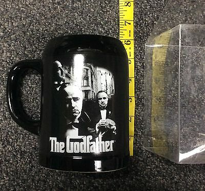 TM & 2012 Paramount Pictures Silver Buffalo The Godfather Ceramic Mug Cup New