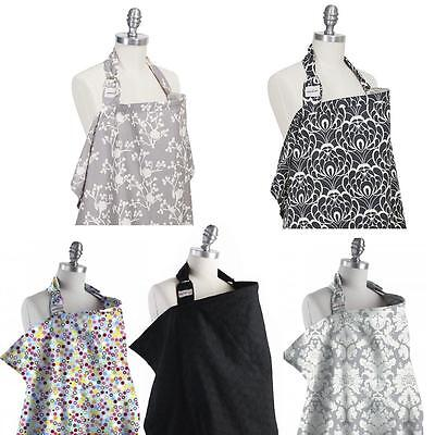 Bebe au Lait 100%Premium Cotton Breathable Lightweight Breastfeeding Cover Apron