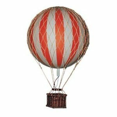 Floating the Skies Hot Air Balloon Replica Color: Red Authentic Models Decor New