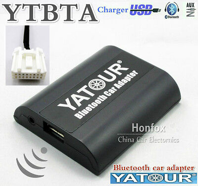 Yatour YT-BTA Bluetooth A2DP Adapter for Mazda 2 3 5 6 Cx7 Rx8 MPV Aux Interface