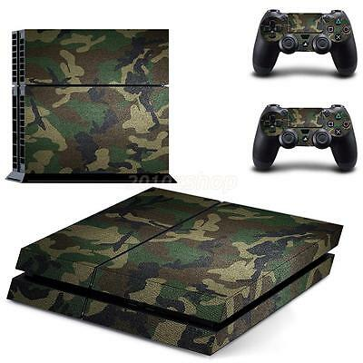 Decalcomania Skin Cover Set per Sony PlayStation 4 PS4 Console Controller