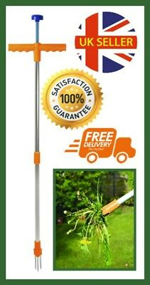 Garden Twist Weeder: light easy to use weed remover & puller tool