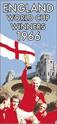 England Football World Cup Winners 1966 Beach Towel