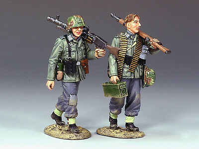 King and (&) Country WS120 - Walking Machine Gun Team - Retired