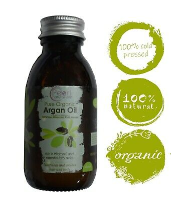 CERTIFIED Organic Moroccan Argan Oil 100% Pure and Natural Cold pressed