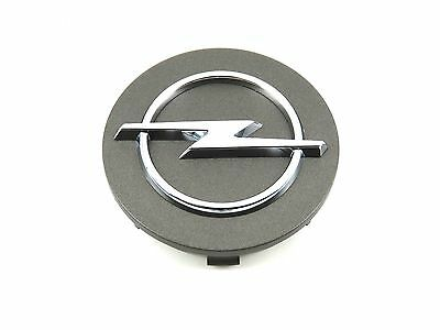 Genuine New OPEL WHEEL CENTRE CAP Grey Hub Corsa Astra Tigra Meriva 4 Stud 60mm
