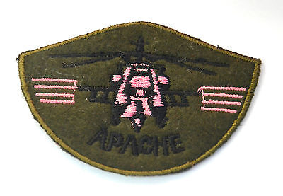 APACHE HELICOPTER CHOPPER Embroidered Iron Sew On Cloth Patch Badge  APPLIQUE