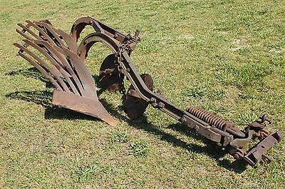 "A-295 2-12"" 2 Bottom Moldboard Turning Plow IH Farmall Super A 100 130 140"