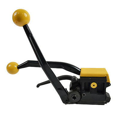 """A333 Steel Strapping Tool Machine  Manual Steelless For Width 1/2""""-3/4"""" Straps"""