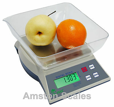 3000 x 0.1 GRAM 6.5 LB DIGITAL KITCHEN FOOD SCALE DIET PORTION CONTROL WEIGHT