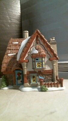 Dickens' Village Series BlueBird Cottage 4020185, FREE SHIPPING