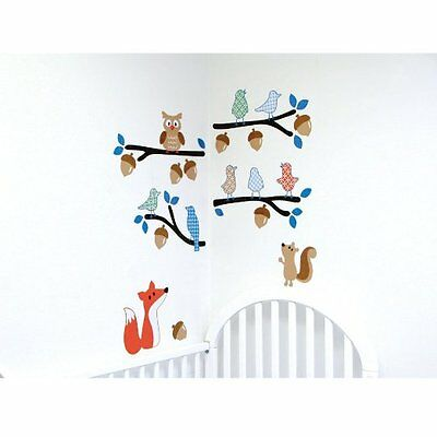 Luvable Friends Wall Decal Peel & Stick,  Boy ,  37 Decals