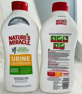 Nature's Miracle Dog Urine Destroy 1 Quart Free Shipping