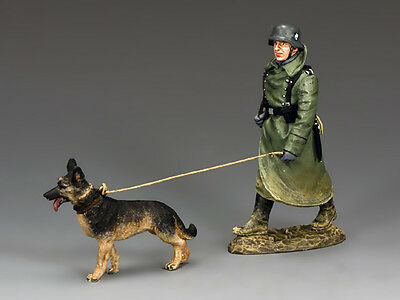 King and (&) Country WS198 - On duty with guard and dog - Retired