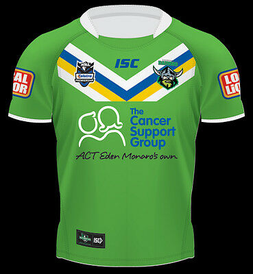 Canberra Raiders Kids Jersey NRL Rugby League - Two Styles