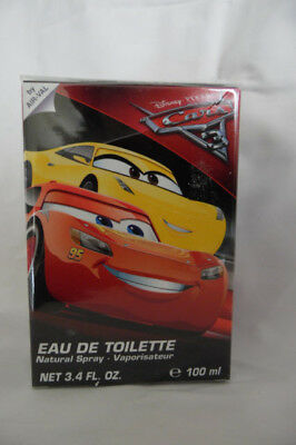 Disney Pixar Cars #3 Edt 3.4 Children Perfume Authentic For Kids Brand New
