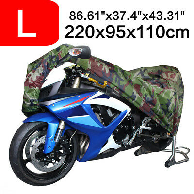 Waterproof Bike Outdoor UV Protective Scooter Rain Dust Cover For Motorcycle L