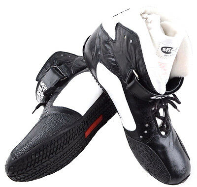 Rjs Racing Sfi 3.3/5 New 2016 Elite Driving Shoes Leather Mid Top Black Size 11