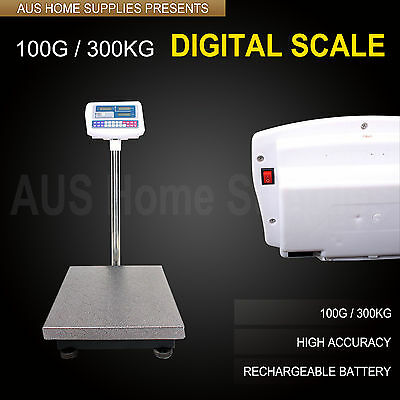 100g / 300kg Electronic Computing Platform Digital Scale Weight Shop domestic