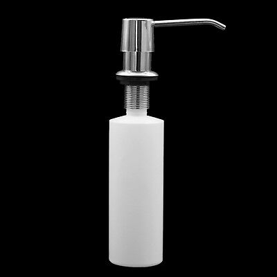 Ultra Faucets Sink Soap Lotion Dispenser Stainless Steel Head Bottle Kitchen Pro