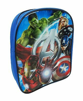 Marvel Avengers | Hulk | Thor | Iron Man Blue Backpack | Rucksack | School Bag