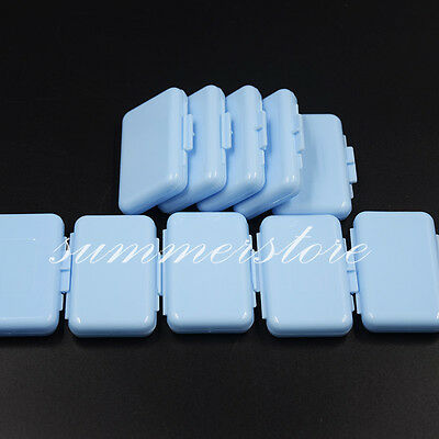 100 Packs Dental Orthodontic Ortho Wax Blue-Mint Scent For Braces Gum Irritation