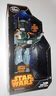 Boba Fett Talking Action Figure 13.5 Inch Star Wars Disney