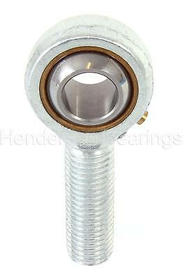 POSB6L 3/8 inch Rose Joint Male Rod End Bearing 3/8-24UNF Left Hand RVH