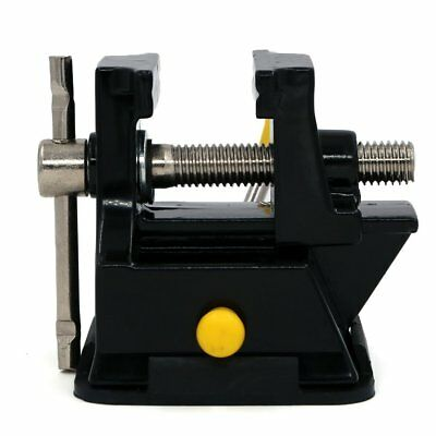 Mini Table Top Bench Vice Vise Press Clamp Rubber Suction Base Carving Fixture