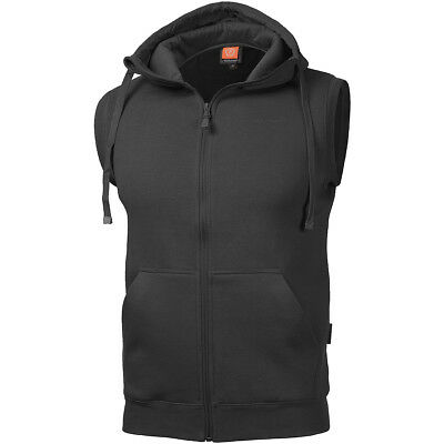 Pentagon Thespis Sweater Vest Classic Mens Hooded Sleeveless Police Jumper Black