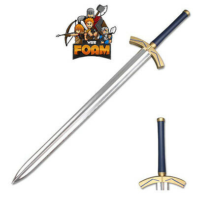 Fate Stay Night Saber Lily Avalon Foam Excalibur LARP Cosplay Costume Foam Sword