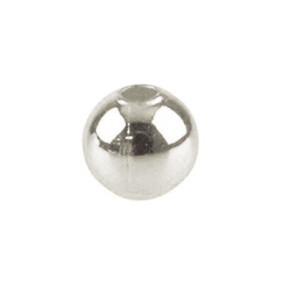 Pack Of 850+ Silver Plated Iron 1.5mm Round Spacer Beads HA02031