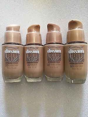 (1) Maybelline Dream Liquid Mousse Airbrush Finish, You Choose!!