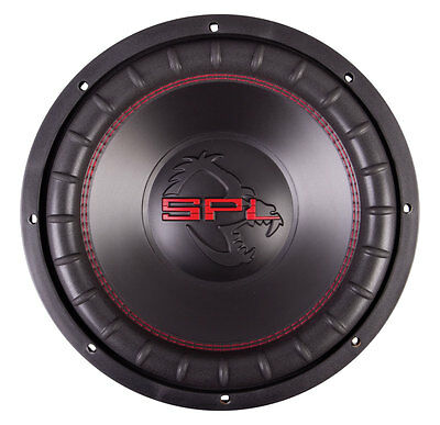 "SPL FXW-152 2200 Watts Max 15"" Dual Voice Coil 2 Ohms Stereo Car Audio Subwoofer"