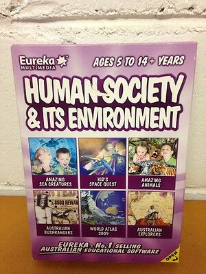 Eureka Multimedia: Human Society & Its Environment (Ages 5 to 14+ Years) for PC