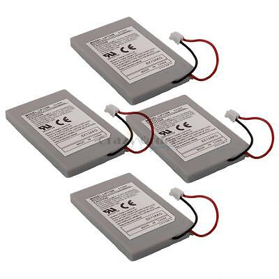 4X New 1800mAH Battery Rechargeable Wireless Controller for Playstation 3 PS3 UK